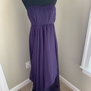 The Limited Strapless Maxi Formal Dress